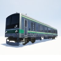 3D model jr 205 train