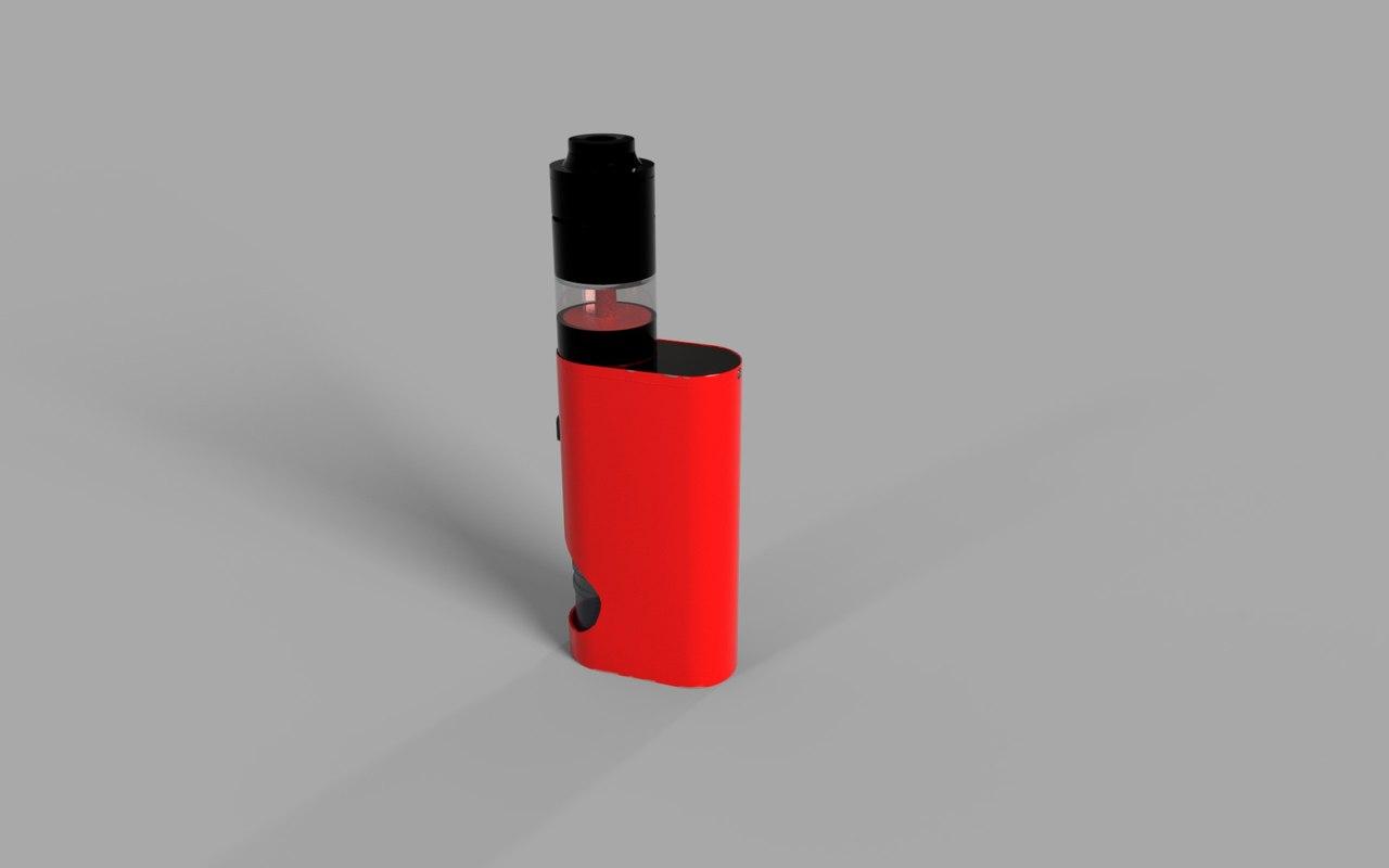 vape 3D model