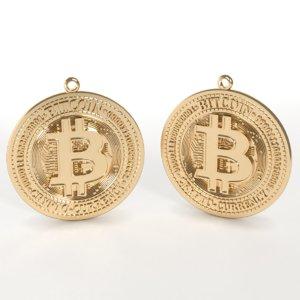 3D pendant bitcoin