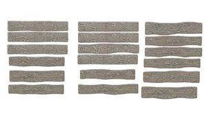 3D wood planks old model