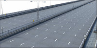architecture road highway 3D model