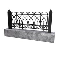 3D fence granite block