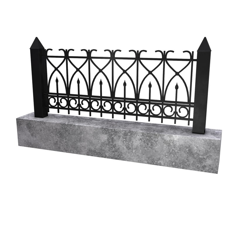 3D fence granite block