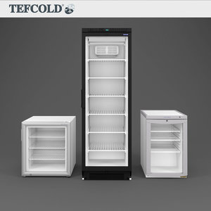 3D model tefcold bc85 display freezers