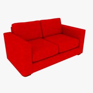 3D 2 sofa