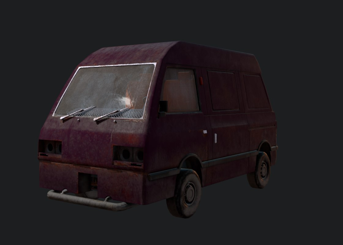 forgotten car model