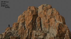 mountain mount 3D