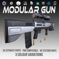 3 pbr gun ar model