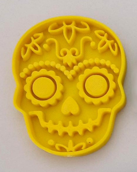 cookie cutter skull model