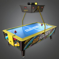 Air Hockey 01(Arcades) - PBR Game Ready