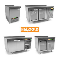 refrigerated counter hicold model