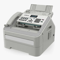 3D laser fax machine generic model