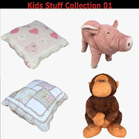 3D model scan kids stuff