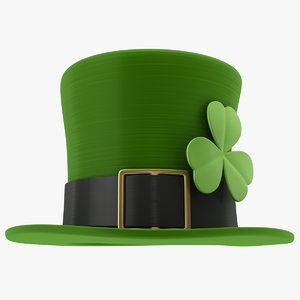 3D leprechaun hat model