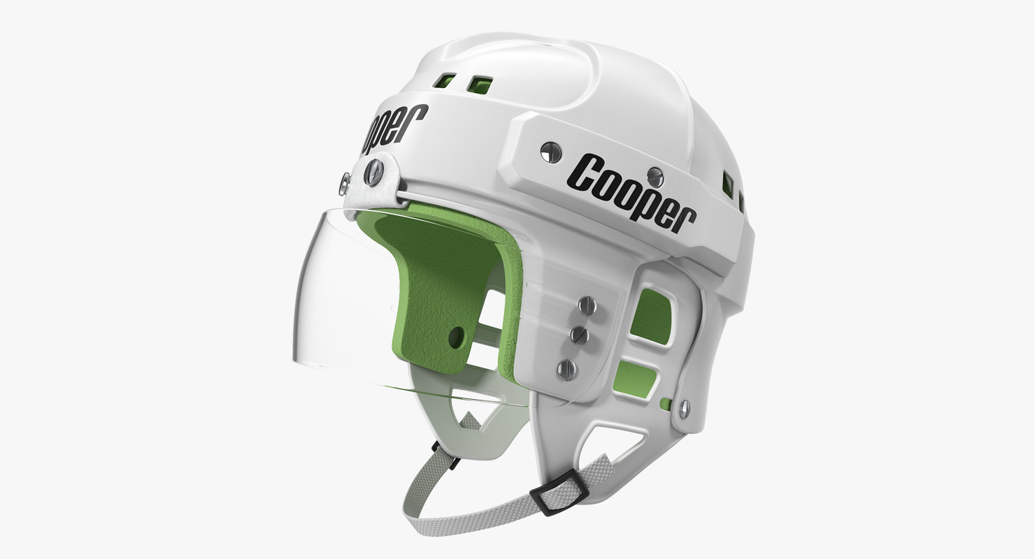 hockey helmet sk2000 3D model