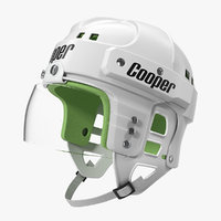 hockey helmet sk2000 3D model