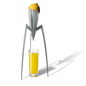 3D alessi citrus squeezer model
