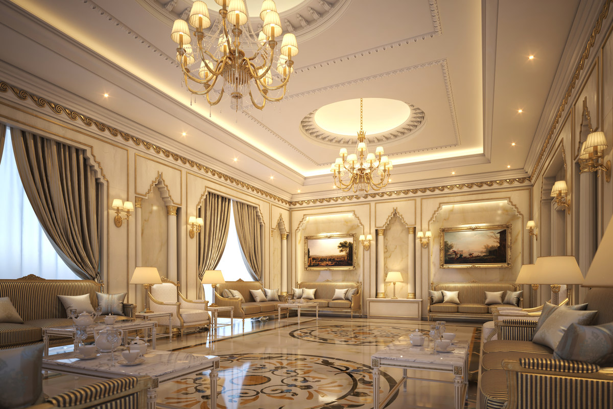 astounding 3d luxury living rooms | Interior scene luxury living room 3D - TurboSquid 1286714