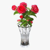 flower bouquet vase 3D