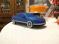 car arteon print modelling model