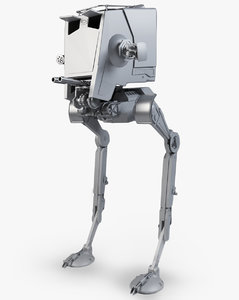 at-st terrain scout 3D