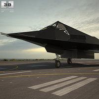 f-117 f 117 3D model