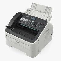 3D compact laser fax machine