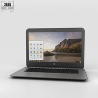 3D hp g4 chromebook model