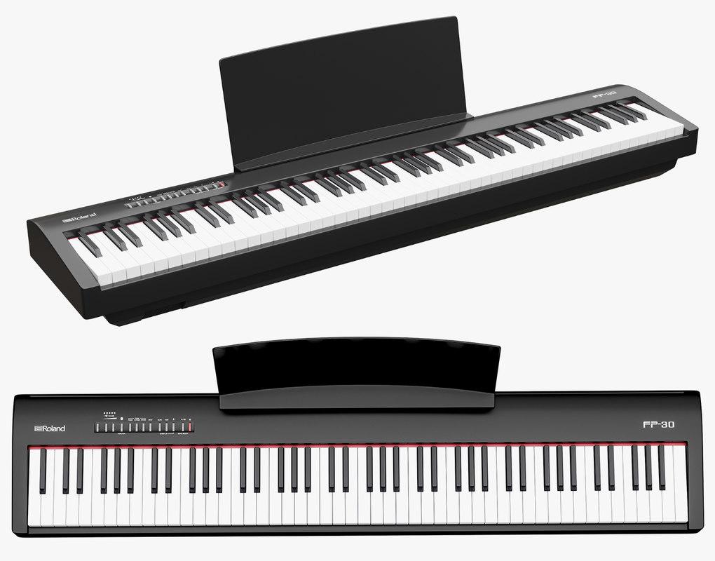 music instruments 3D model