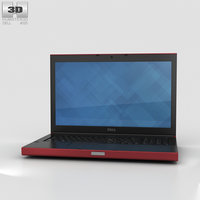 3D model dell mobile precision