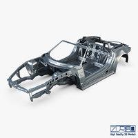 3D car frame v 1 model
