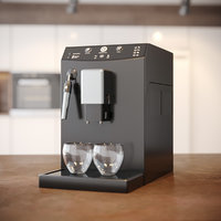 coffee machine philips 3D