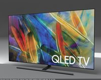 samsung tv q9f 75 3D model