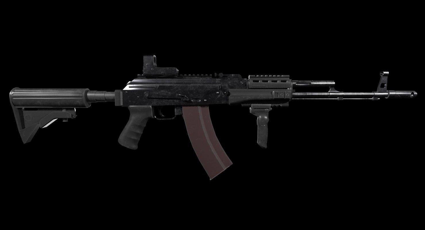 3D firearm weapon