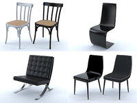 Chairs collection (set of 20)