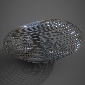 lotka-volterra strange attractor 3D