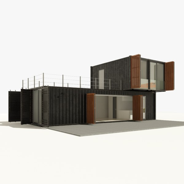 container house 3D model