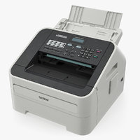 brother fax 2840 laser 3D model