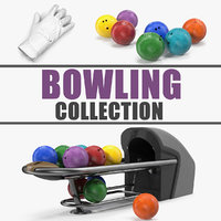 3D bowling 3 model
