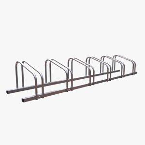 bike rack 3D