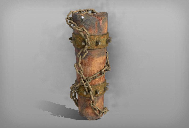 3D totem chain