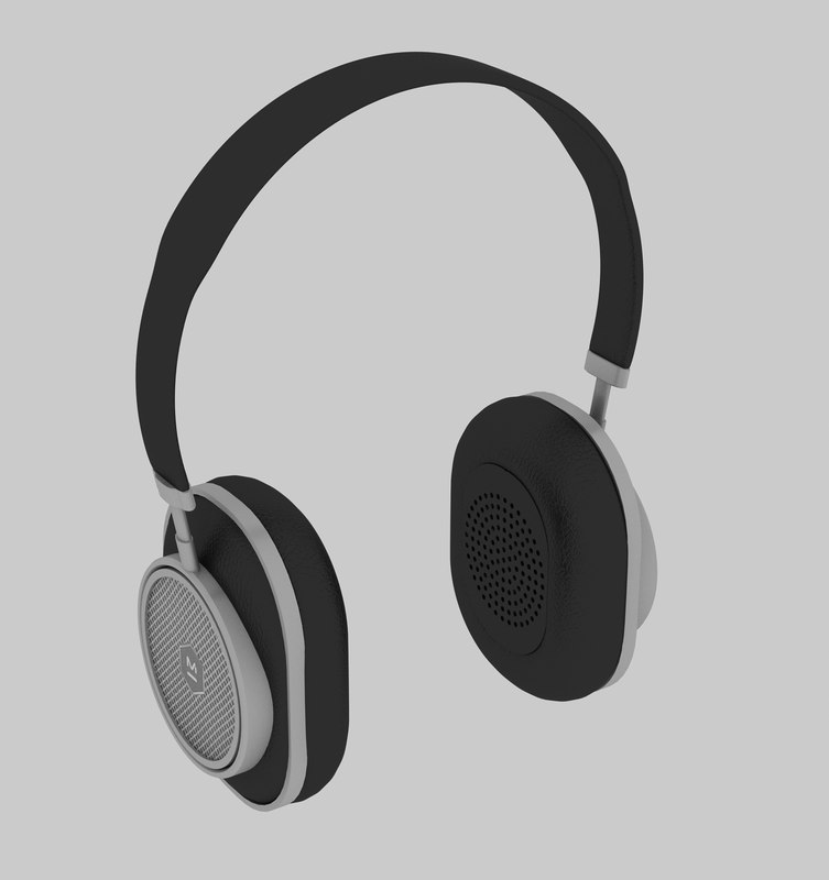 3D model master dynamic headphone