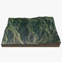 san bernardino mountains 3D