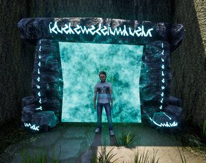 rock portal 3D model