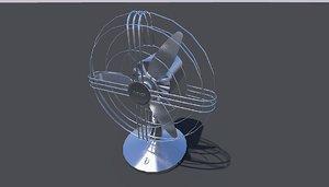 3D model fan fa