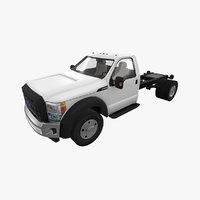 3D realistic f-550 chassis