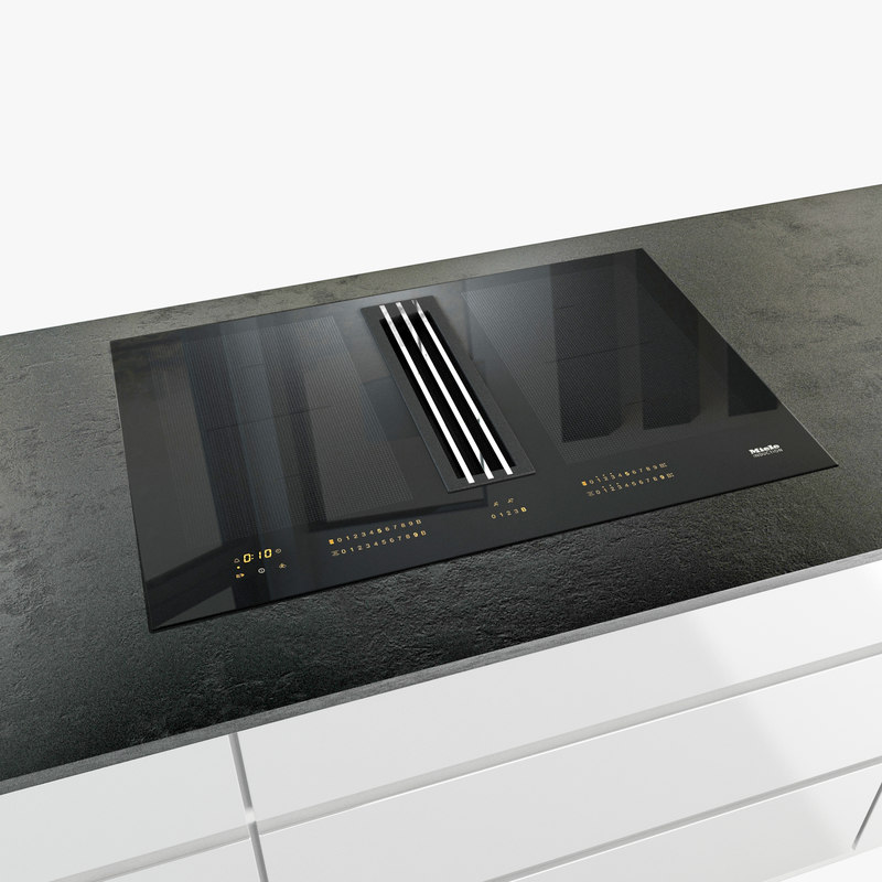 miele cooktop 3D model