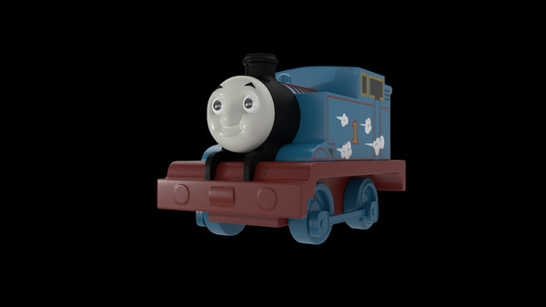 Thomas The Tank Engine 3D Models for Download | TurboSquid