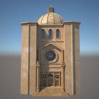 3D dome architecture model
