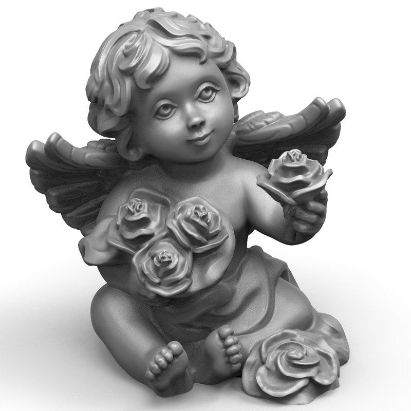 3D sculpture statue model
